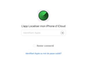 localiser iphone éteint