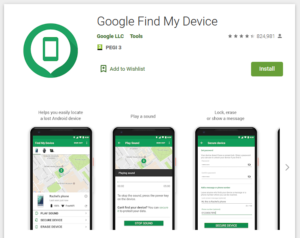 localiser smartphone android perdu
